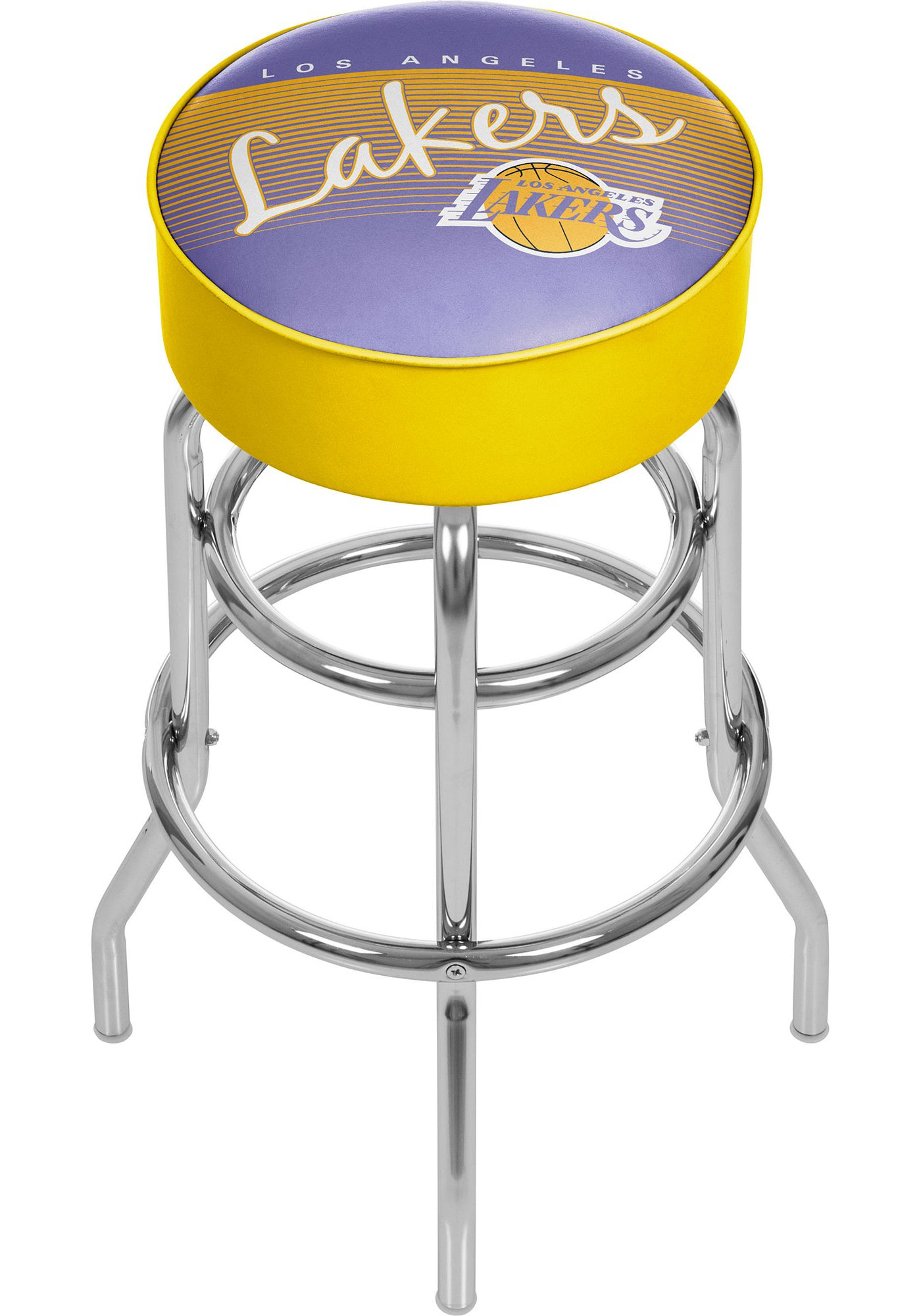 Trademark Global Los Angeles Lakers Hardwood Classic Bar Stool