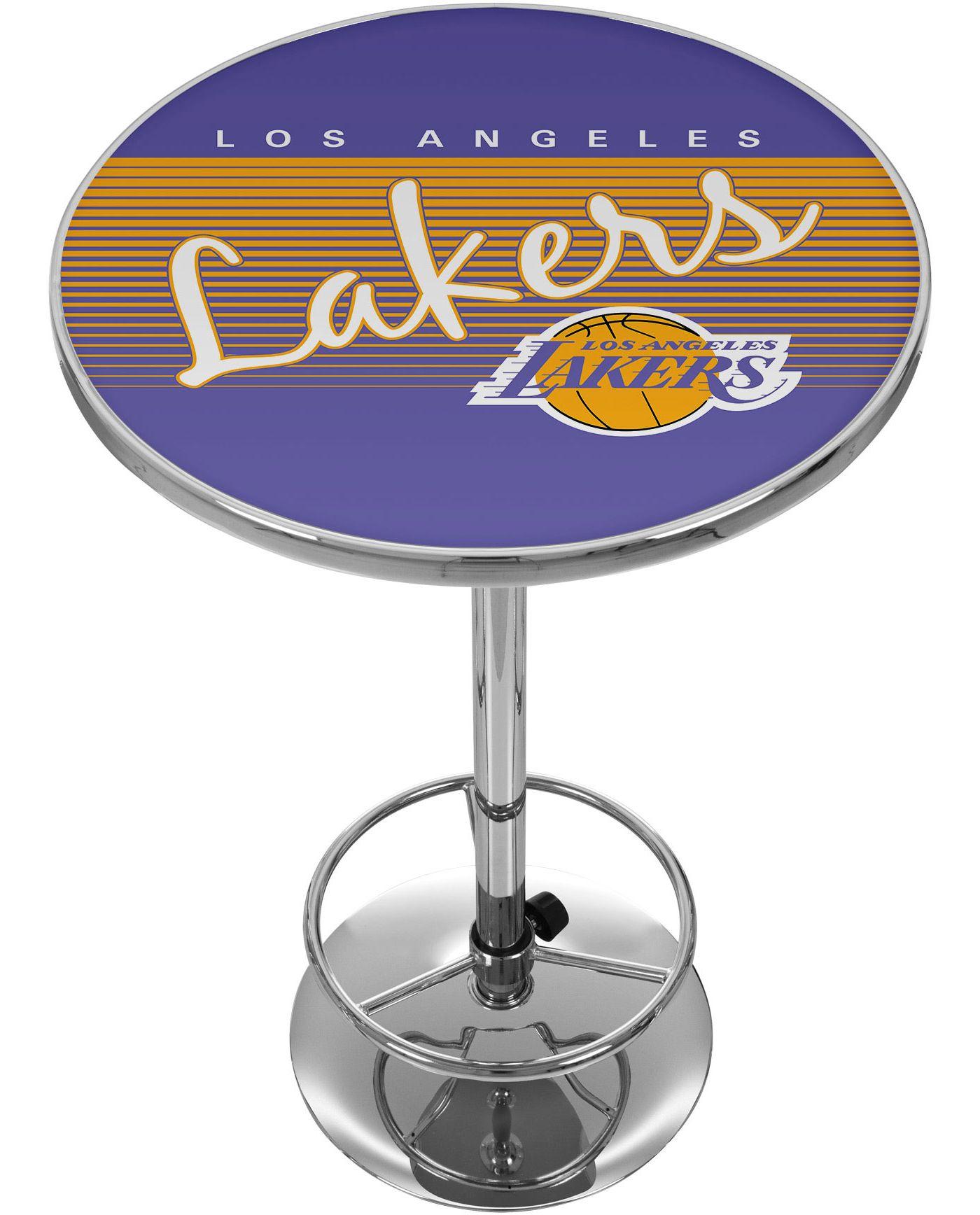 Trademark Global Los Angeles Lakers Hardwood Classic Table