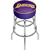 Trademark Global Los Angeles Lakers Fade Logo Bar Stool