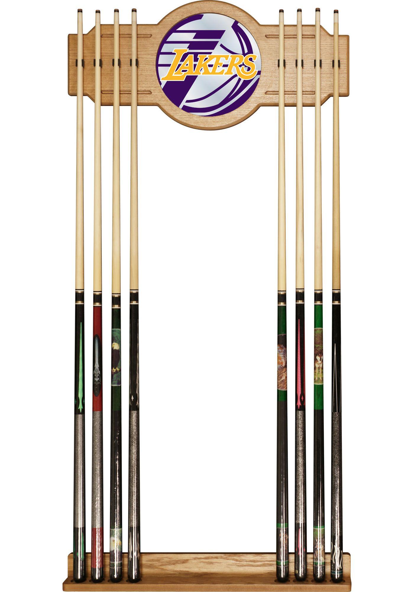 Trademark Global Los Angeles Lakers Fade Logo Cue Rack