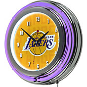 Trademark Global Los Angeles Lakers City Logo Neon clock