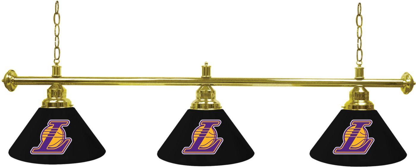 Trademark Global Los Angeles Lakers 3 Shade Lamp