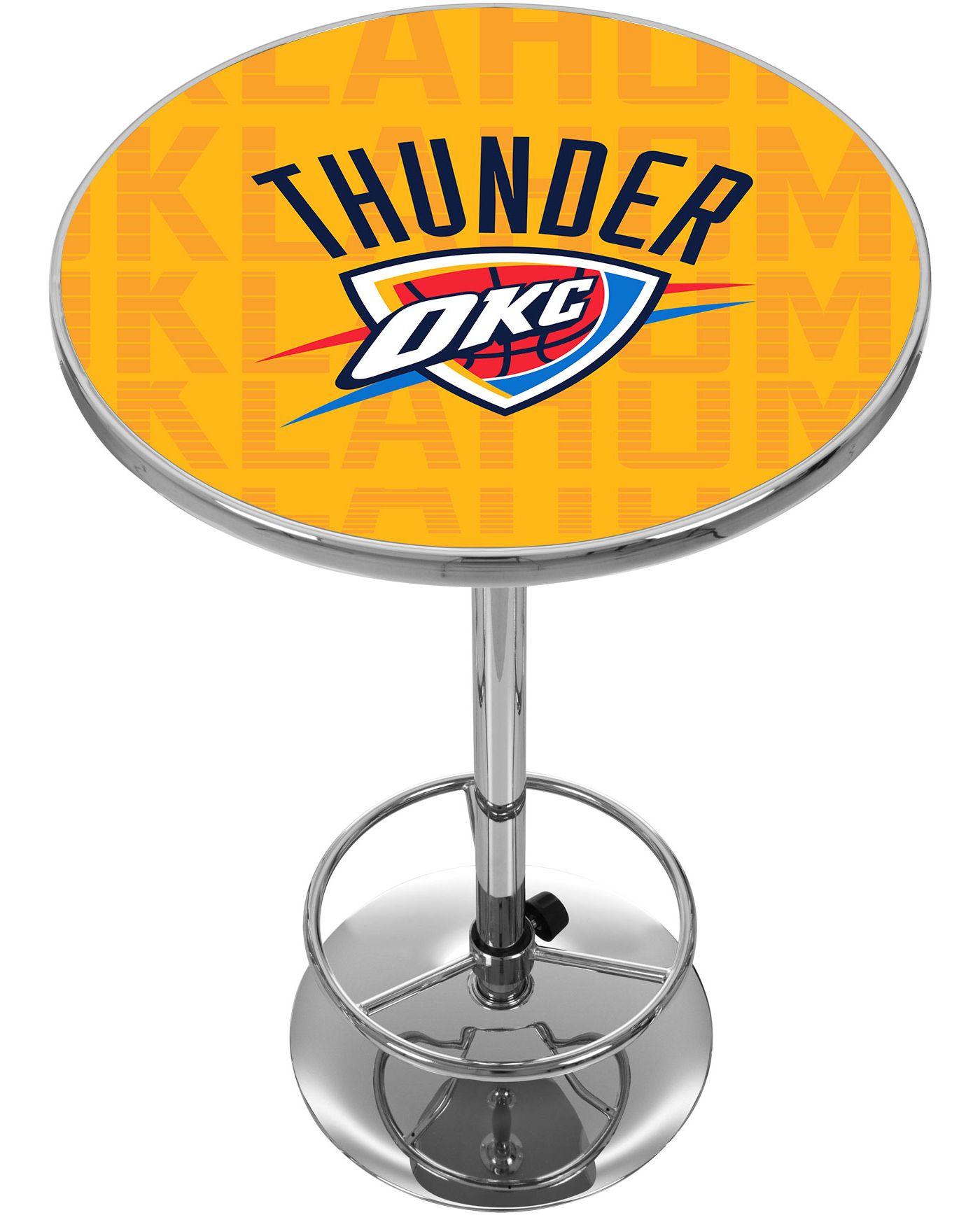 Trademark Global Oklahoma City Thunder Basketball Club Table