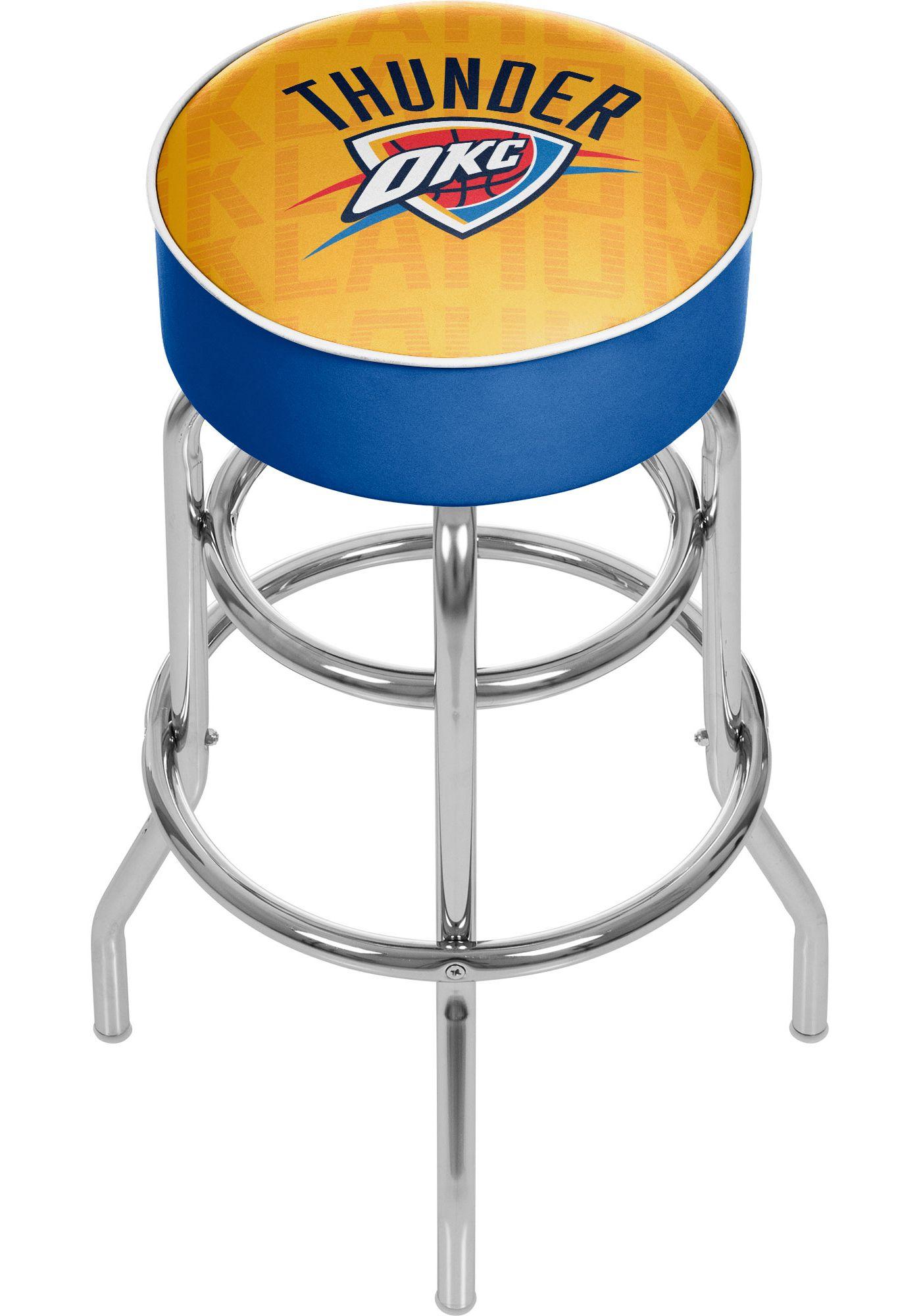 Trademark Global Oklahoma City Thunder Basketball Club Stool