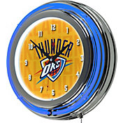 Trademark Global Oklahoma City Thunder City Logo Neon Clock