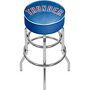 Trademark Global Oklahoma City Thunder Fade Logo Bar Stool