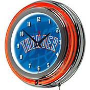 Trademark Global Oklahoma City Thunder Fade Logo Neon Clock
