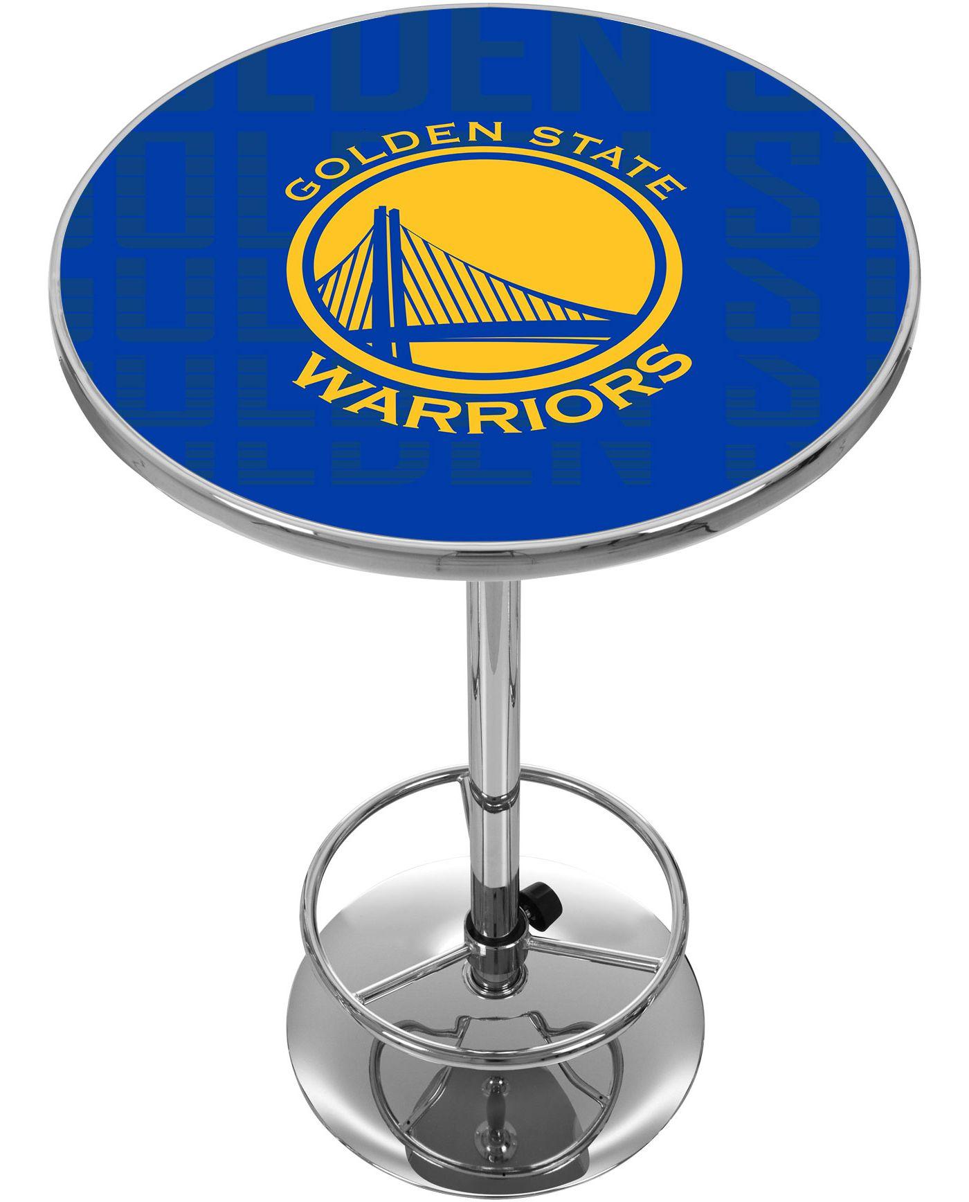 Trademark Global Golden State Warriors Basketball Club Table