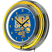 Trademark Global Golden State Warriors Champs Neon Clock