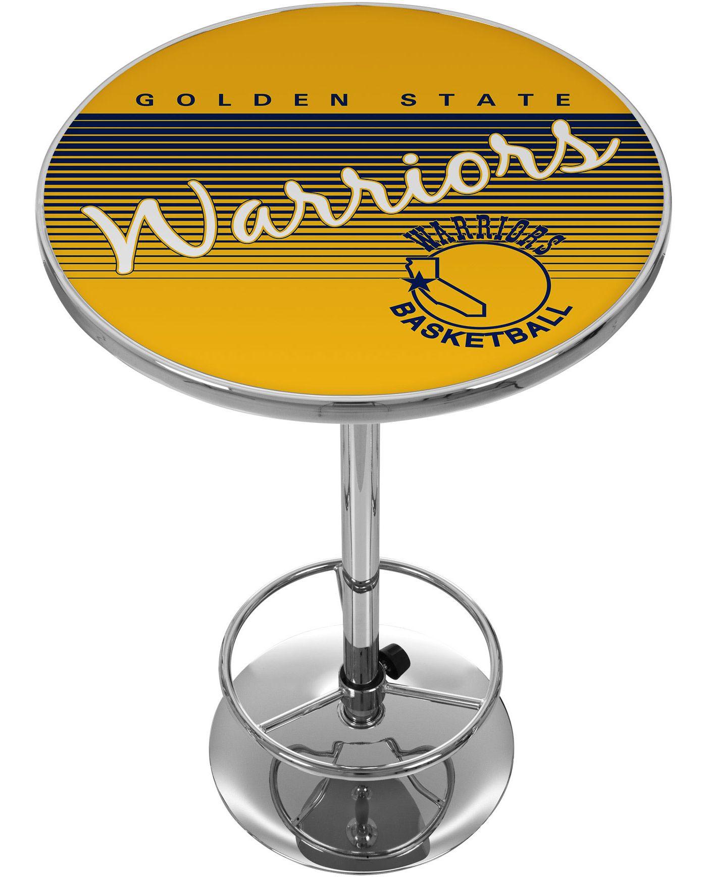 Trademark Global Golden State Warriors Hardwood Classic Table