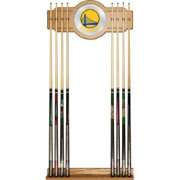Trademark Global Golden State Warriors Fade Logo Cue Rack