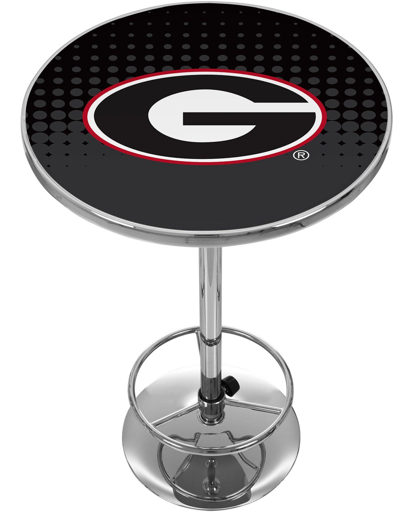 Trademark Global Georgia Bulldogs Reflection Pub Table