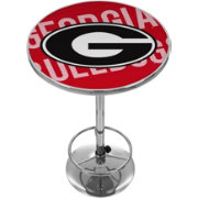 Trademark Global Georgia Bulldogs Wordmark Pub Table