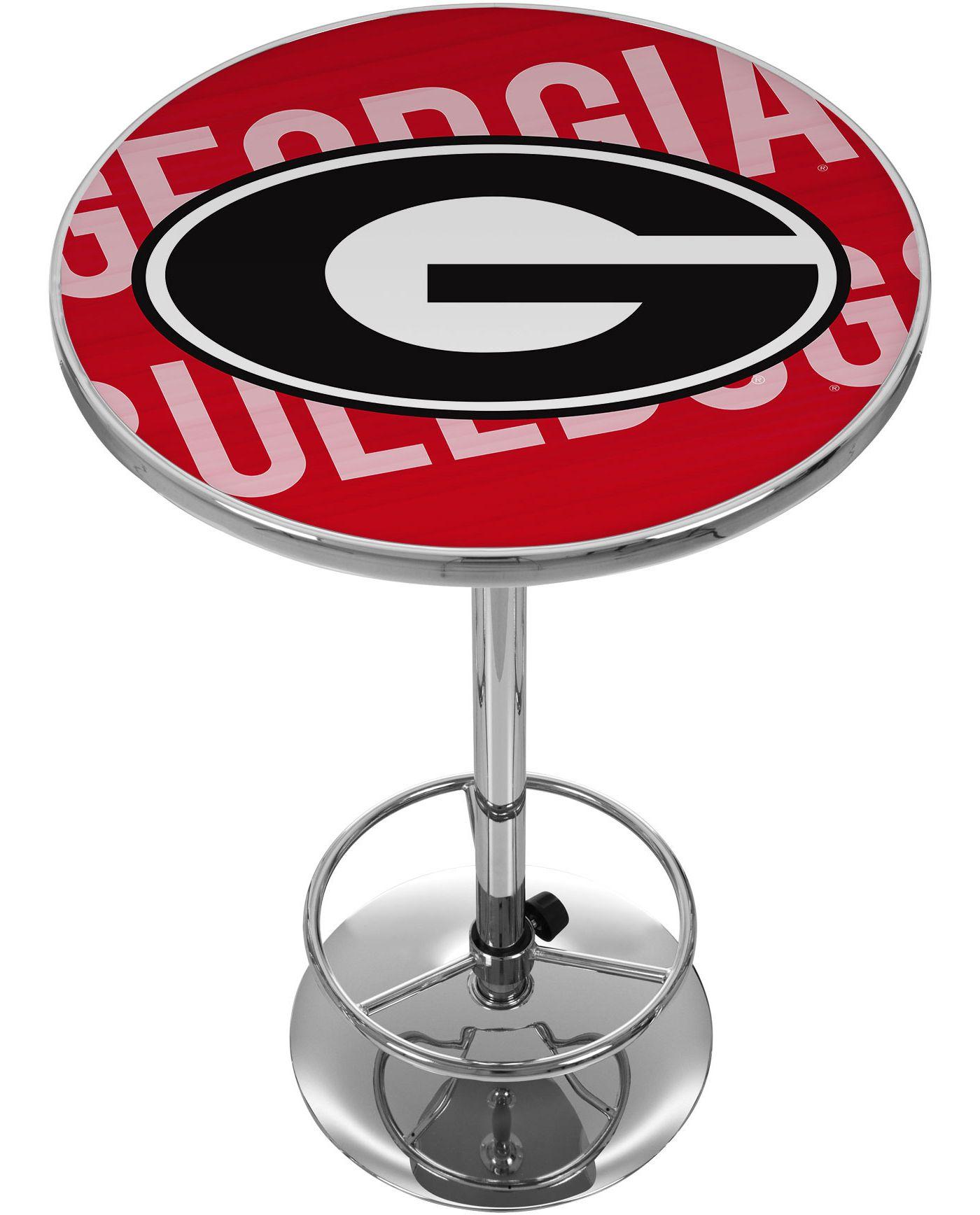 Trademark Global Georgia Bulldogs Wordmark Pub Table