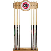Trademark Global Georgia Bulldogs Wordmark Cue Rack