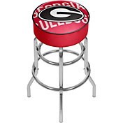 Trademark Global Georgia Bulldogs Wordmark Bar Stool
