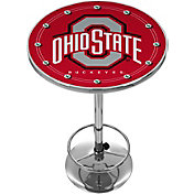 Trademark Global Ohio State Buckeyes Chrome Pub Table