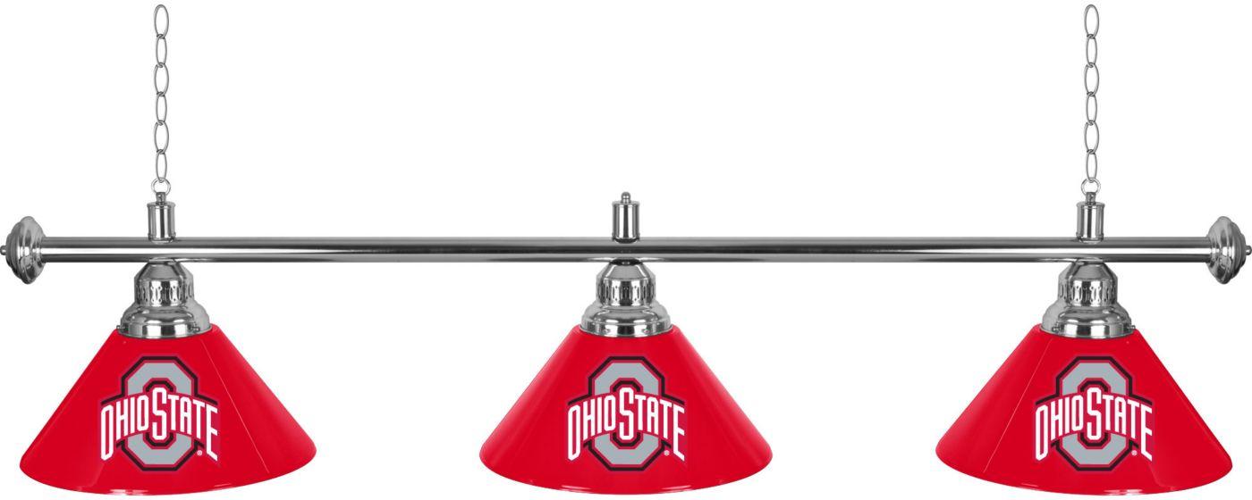 Trademark Global Ohio State Buckeyes 3 Shade Lamp