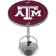 Trademark Global Texas A&M Aggies Chrome Pub Table