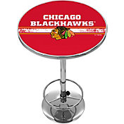 Trademark Global Chicago Blackhawks Chrome Pub Table