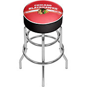 Trademark Global Chicago Blackhawks Swivel Bar Stool