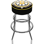 Trademark Global Boston Bruins Throwback Bar Stool