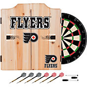 Trademark Global Philadelphia Flyers Dart Cabinet Set
