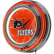 Trademark Global Philadelphia Flyers Watermark Neon Clock