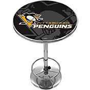 Trademark Global Pittsburgh Penguins Watermark Pub Table