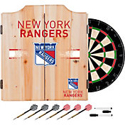 Trademark Global New York Rangers Dart Cabinet Set