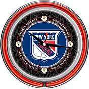 Trademark Global New York Rangers Vintage Neon Clock
