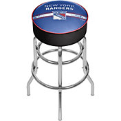 Trademark Global New York Rangers Swivel Bar Stool