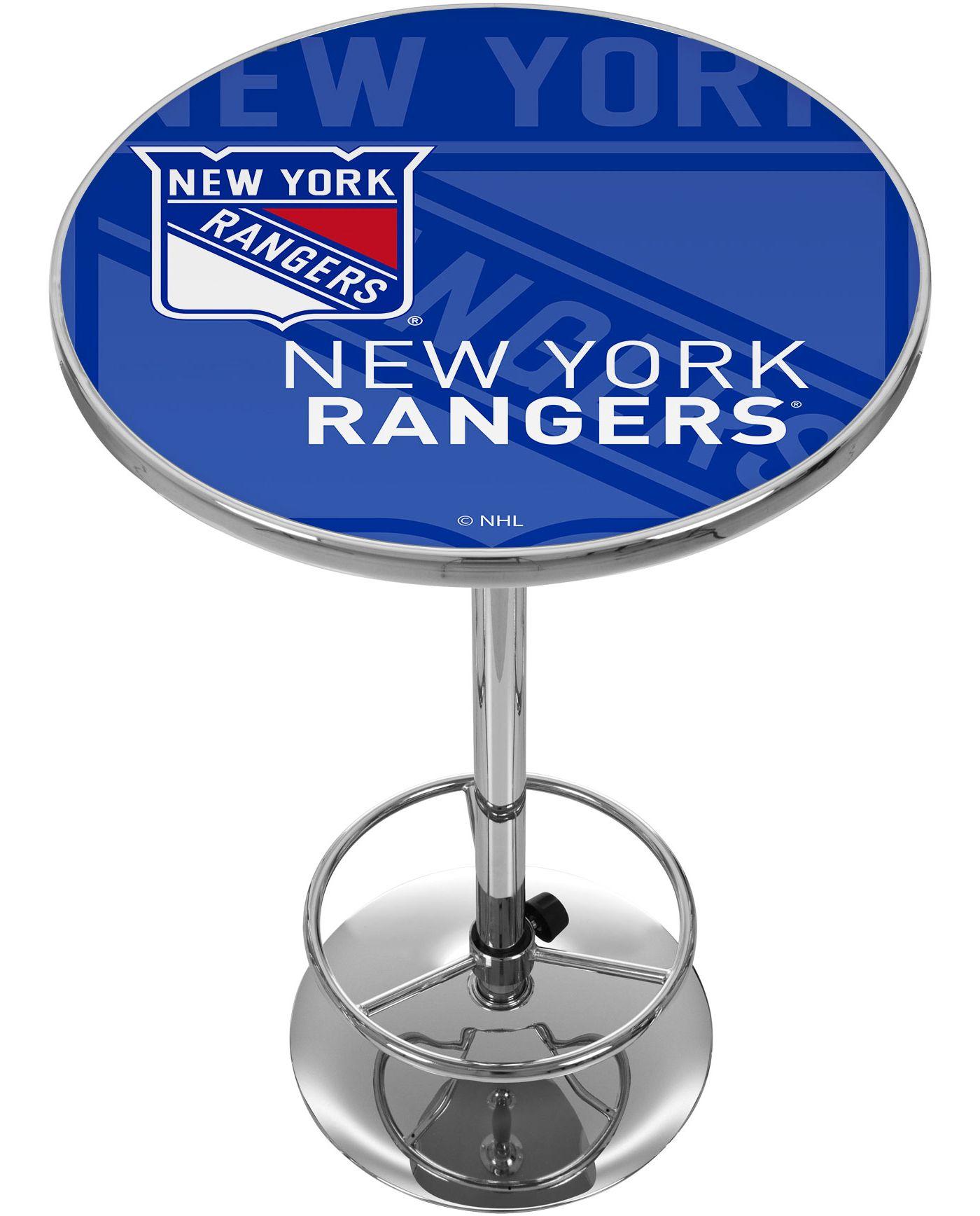 Trademark Global New York Rangers Watermark Pub Table