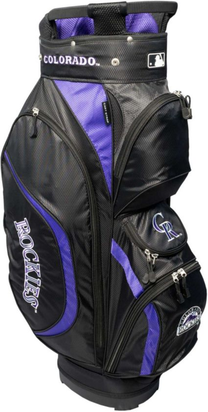Team Golf Colorado Rockies Clubhouse Cart Bag