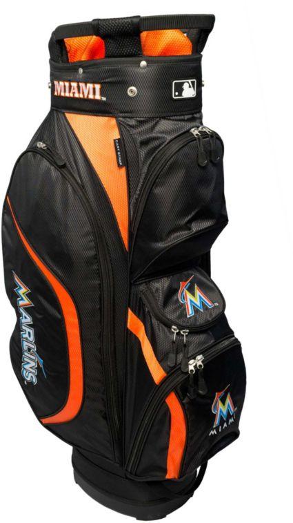 Team Golf Miami Marlins Clubhouse Cart Bag