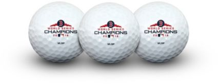 Team Golf 2018 World Series Champions Boston Red Sox Golf Balls – 3 Pack