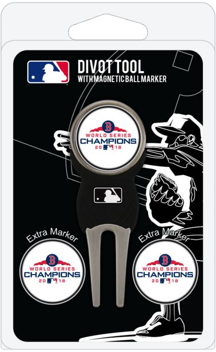 Team Golf 2018 World Series Champions Boston Red Sox Divot Tool and Marker Set
