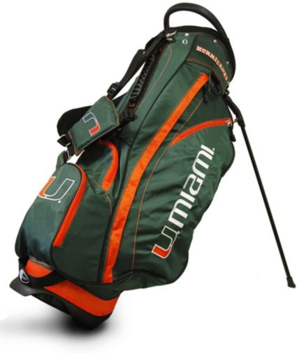 Team Golf Miami Hurricanes Fairway Stand Bag