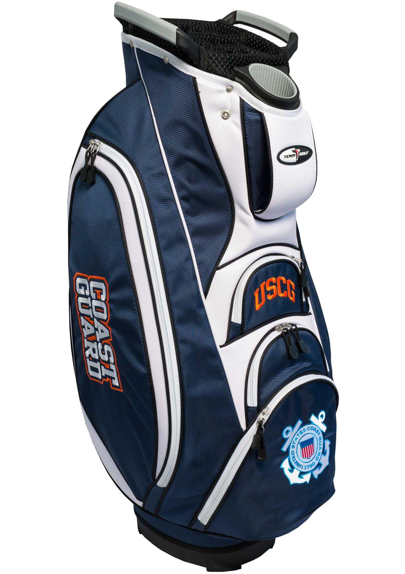 Team Golf United States Coast Guard Victory Cart Bag
