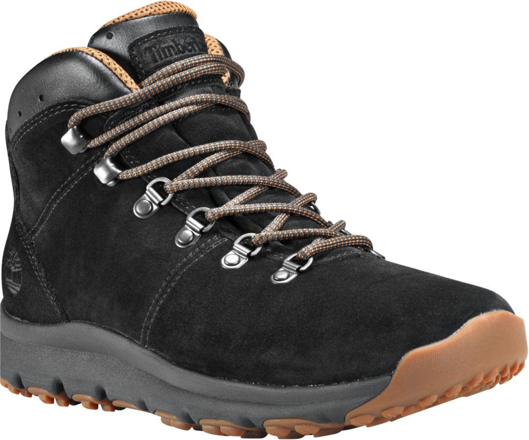 der Verkauf von Schuhen beliebt kaufen elegante Form Timberland Men's World Hiker Mid Hiking Boots