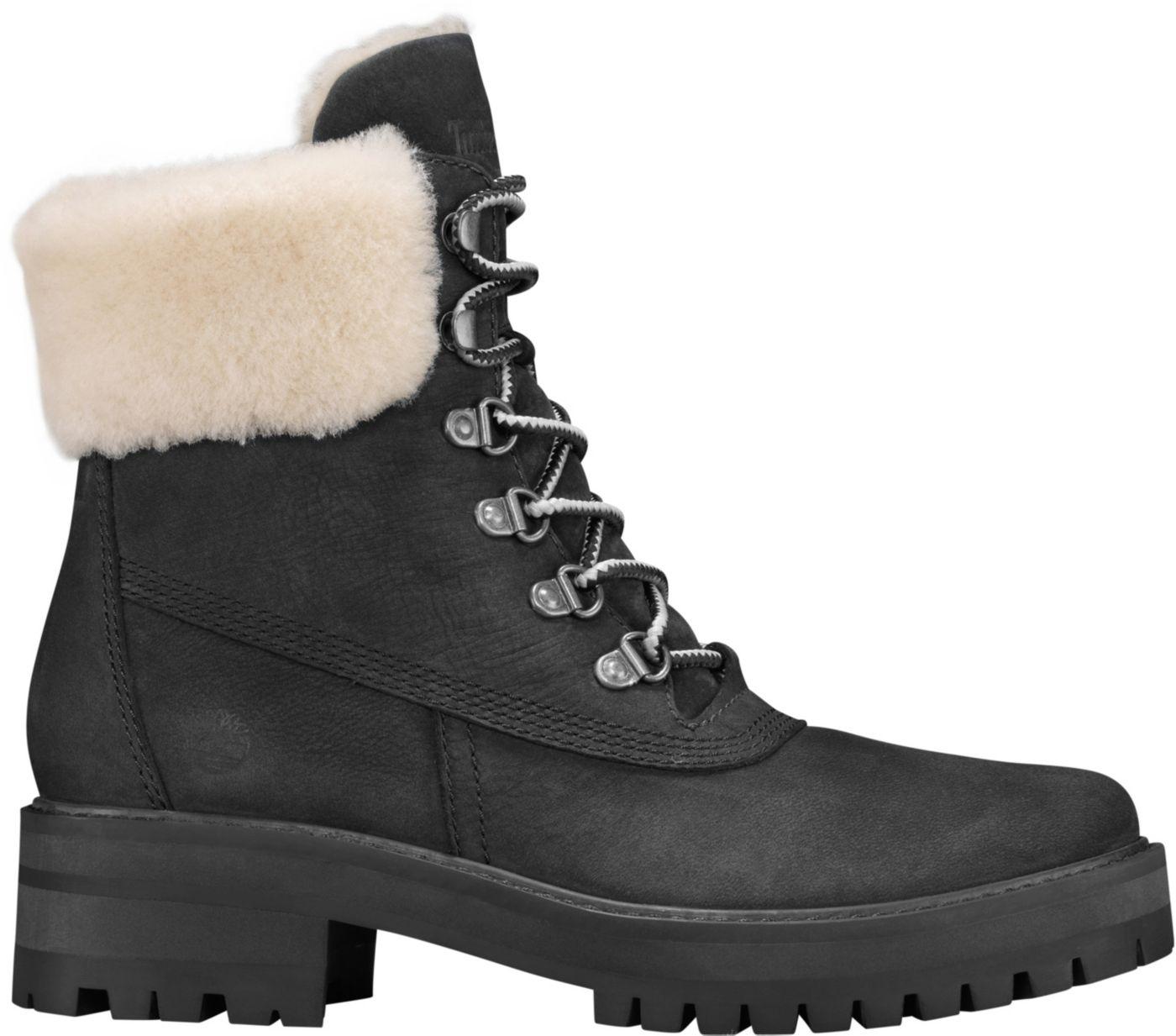 """Timberland Women's Courmayeur Valley 6"""" Shearling Winter Boots"""
