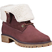 Timberland Women's Jayne Fleece Fold-Down Waterproof Boots
