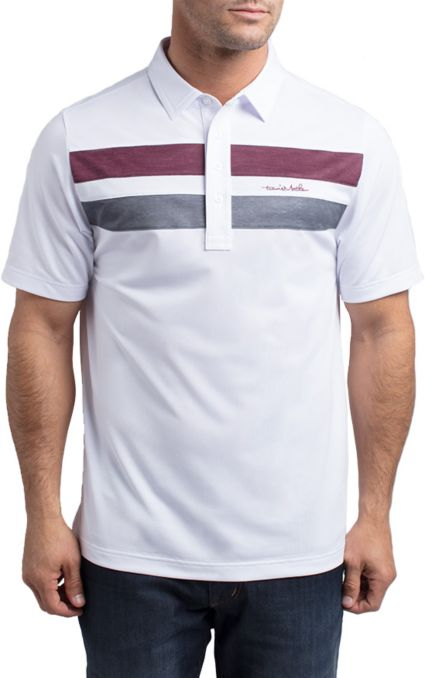 TravisMathew Men's Big Six Golf Polo