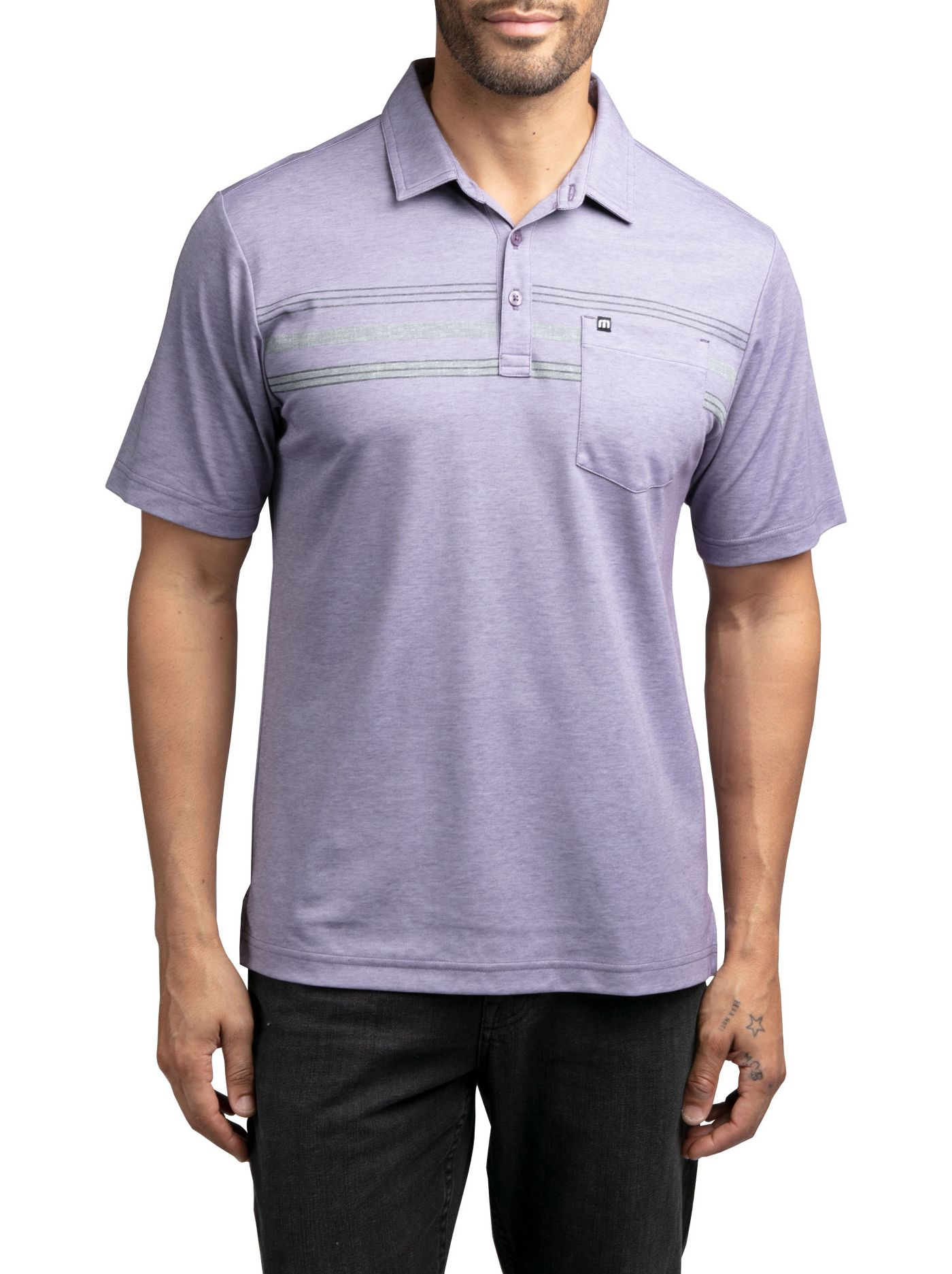TravisMathew Men's Brownie Golf Polo