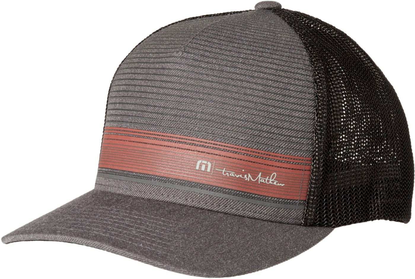 TravisMathew Men's Beauvais Flexfit Golf Hat