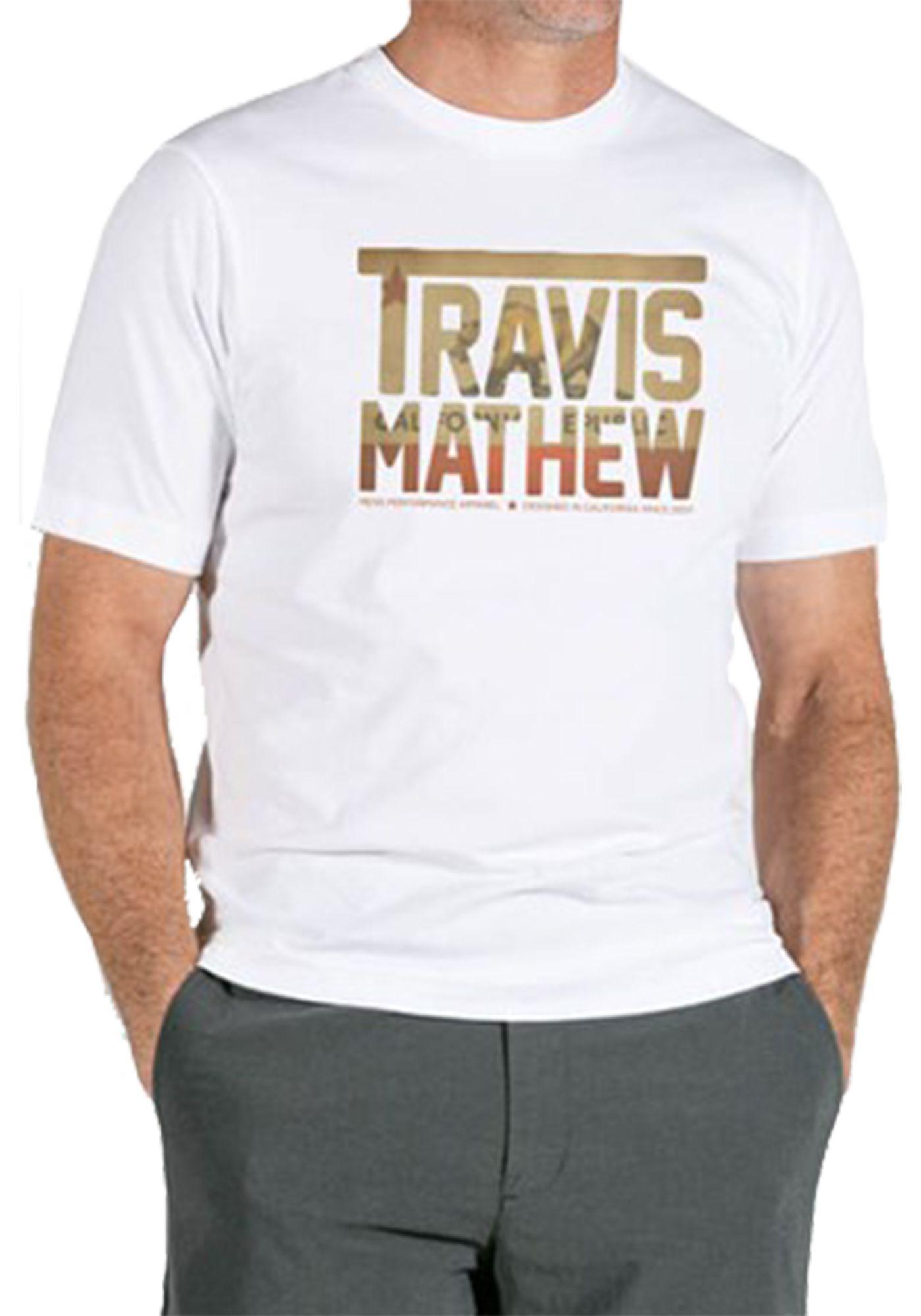 TravisMathew Men's Cali Bear TM Golf T-Shirt