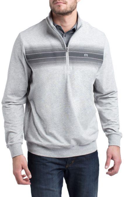 TravisMathew Men's Gamma Ray ¼ Zip Golf Pullover