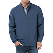 TravisMathew Men's Road Soda Full Zip Golf Jacket