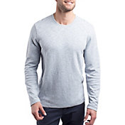 TravisMathew Men's Renner Long Sleeve Golf Shirt
