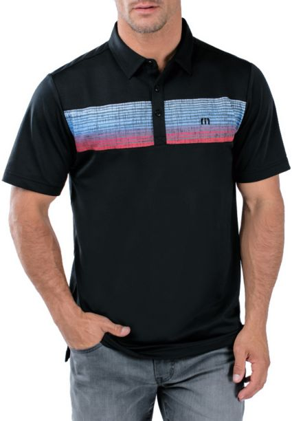 TravisMathew Men's Three Jack Golf Polo
